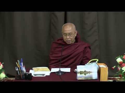 May 10, 2015 Visuddhimagga (17) by Venerable Sayadaw U Jotalankara at TDS Dhamma Class