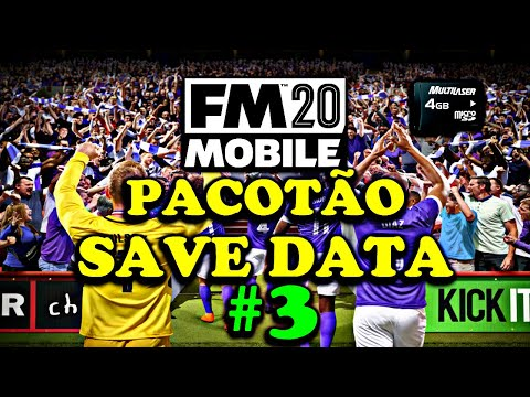 Football Manager 2020 Mobile (PACOTÃO DE SAVE NOVA VERSÃO 11.3.0) SAVE DATA.📲🔥 Parte 3 from YouTube · Duration:  14 minutes 19 seconds