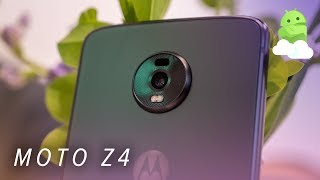Moto Z4 hands-on: New host for the same old Mods