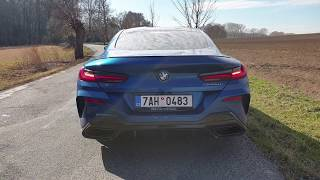 2019 BMW M850i xDrive: engine & exhaust sound + hard driving