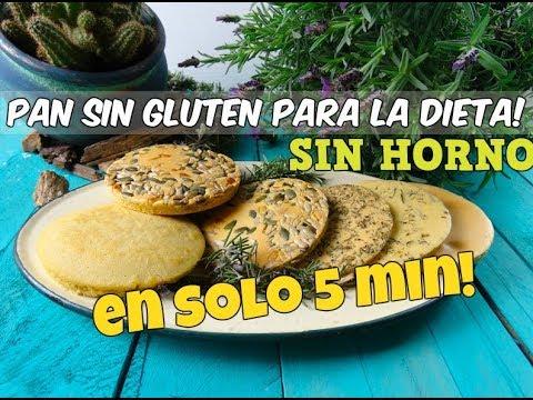 receta pan sin gluten saludable