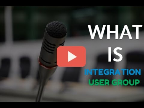 What is Integration User Group?