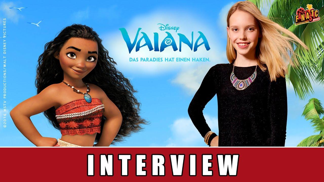 Vaiana - Interview I Lina Larissa Strahl