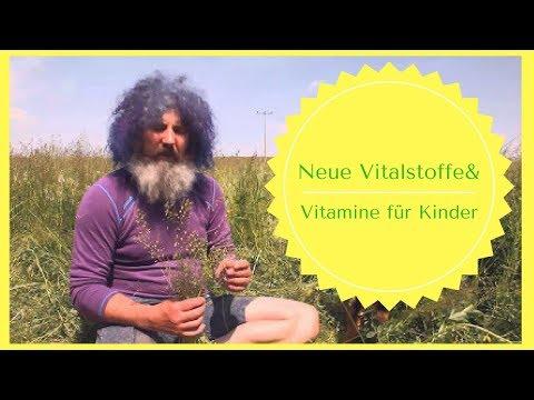 Robert Franz: Neue Vitalstoffe und Vitamine für Kinder!