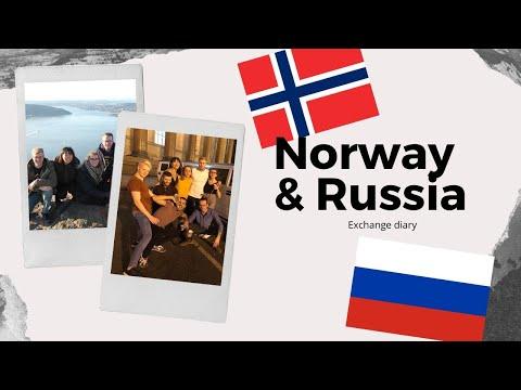 Norway 🇳🇴& Cruise Trip 🇫🇮🇷🇺🇪🇪| Exchange Diary #3