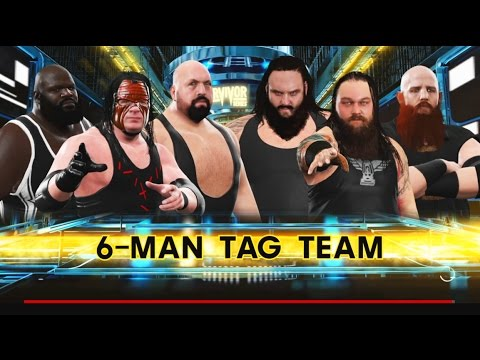 WWE 2K17-Big Show & Kane & Mark Henry vs The Wyatt Family -6 Man Tag Team  Match- 2017