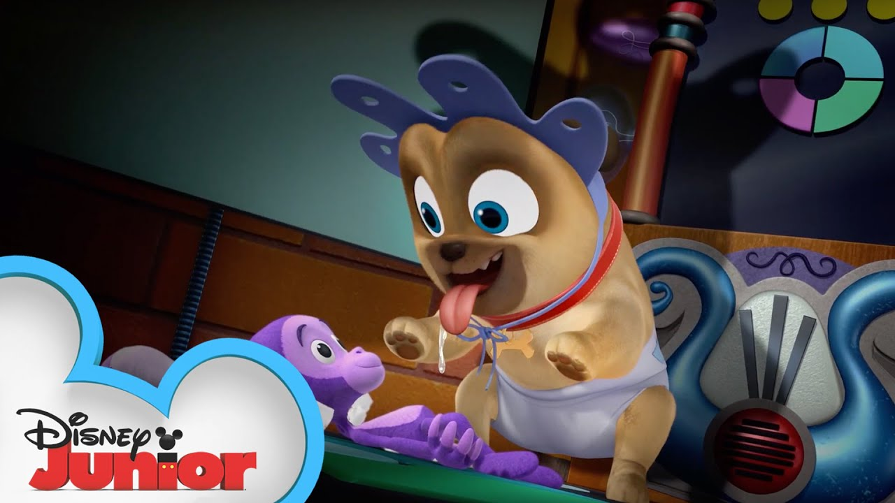 Young Pups Puppy Playcare Puppy Dog Pals Disney Junior Youtube
