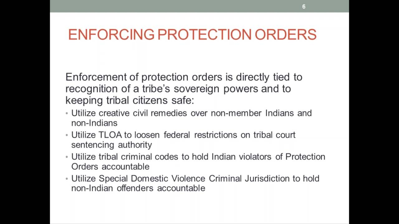 Tribal Court Decisions