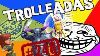 ¿Más trolleadas con la reina 40? | Trolleada | Descubriendo Clash of Clans #248 [Español]