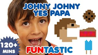 Johny Johny Yes Papa  | Nursery Rhymes | Kids Songs | FUNtastic TV thumbnail