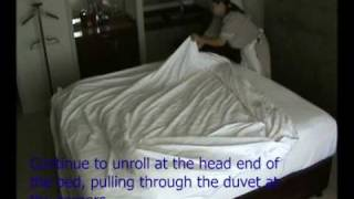 King Bed Duvet Roll