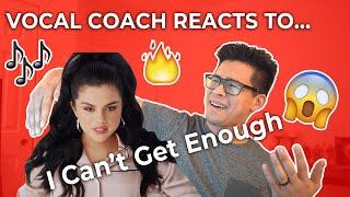 [Vocal Coach Reaction 🎶] I Can't Get Enough - Selena Gomez, J Balvin, Benny Blanco, Tainy