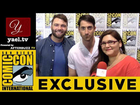 Seth Gabel & Iddo Goldberg  Salem  SDCC 2016  yael.tv