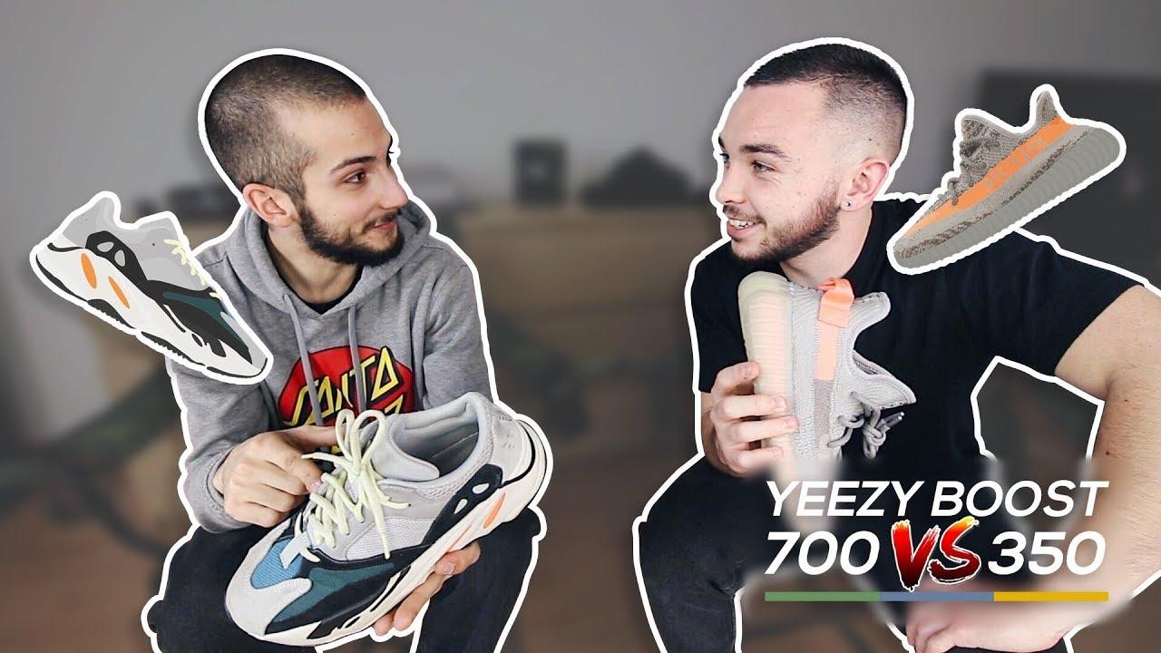 YEEZY 700 VS 350 : LAQUELLE CHOISIR