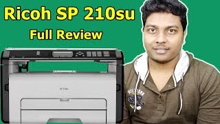 Ricoh SP 210su Laser Printer from AMAZON Print Test Xerox Test Scan Test Review TechnoSajid