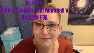 Retail Arbitrage Haul from Staples, Marshall's, and Kohl's for Amazon FBA