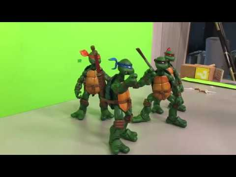 25 Minutes of TMNT Stop Motion Animating