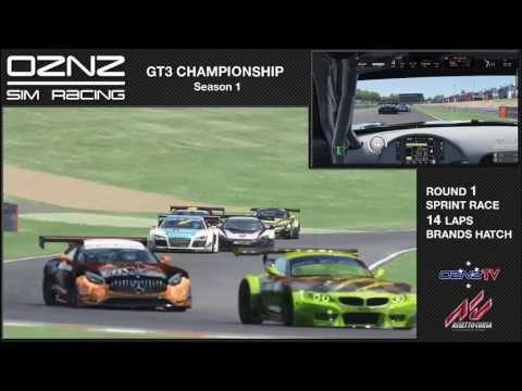 2017 GT3 Championship - Round 1 Sprint Race