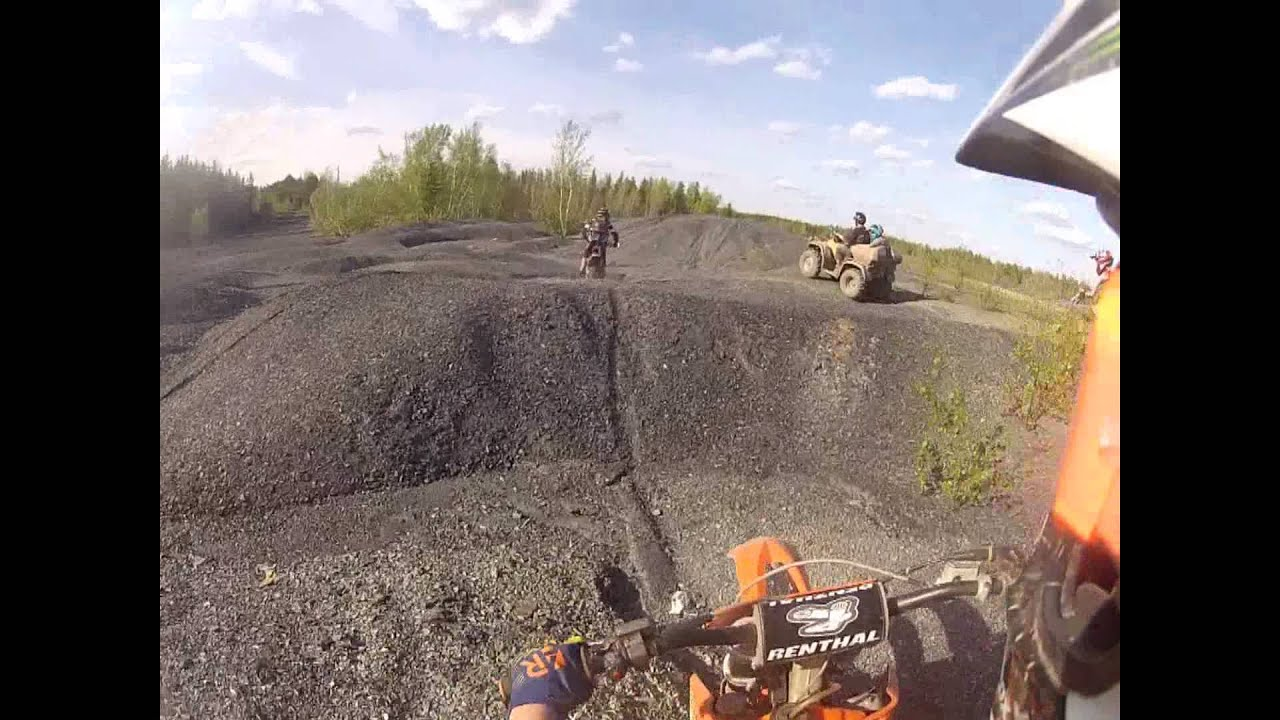 ktm 125 sx hill climbing - youtube