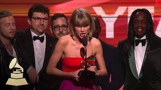 taylor swift album of the year 58th grammys