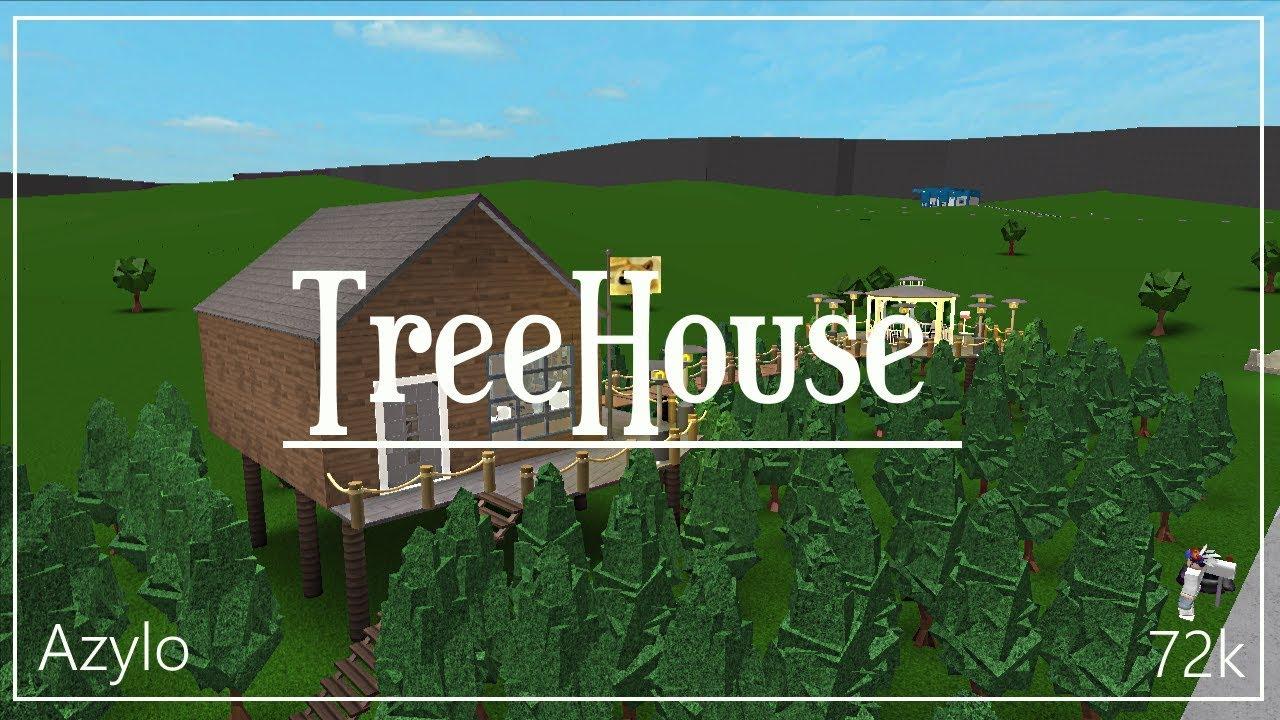 Roblox Bloxburg Treehouse 72k Youtube