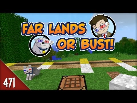 Minecraft Far Lands or Bust - #471 - Floating Point Boundary!
