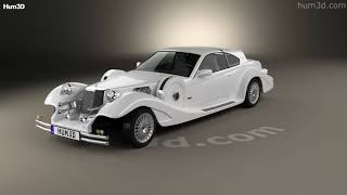 Mitsuoka Le-Seyde coupe 1993 3D model by Hum3D.com