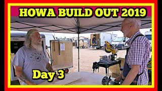Live from the HOWA Build Out Day 3! Check Out the Vehicles and Talk with the Volunteers!