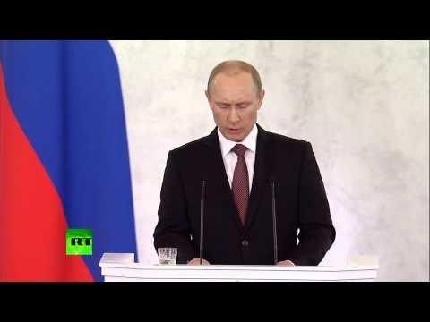 Путин: Запад вспомнил о международном праве — лучше поздно, чем никогда