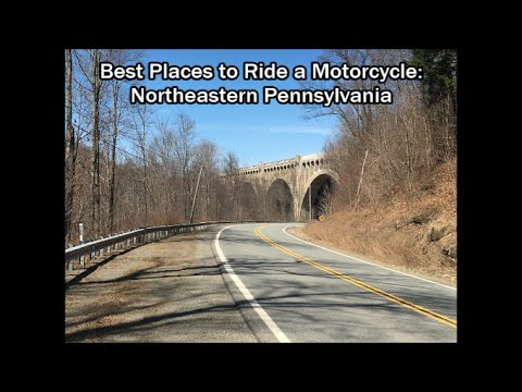 Best Places to Ride A Motorcycle:  Western Pennsylvannia
