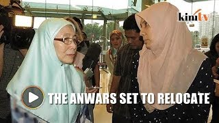 Nurul Izzah, Wan Azizah to relocate come GE14, says sources