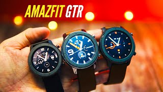 Amazfit GTR 42mm and 47mm: A look at all variants (almost)! Which size should you get?