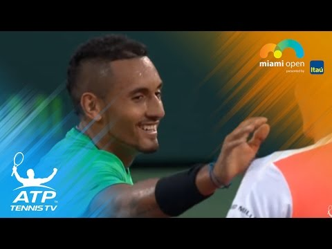 Kyrgios v Zverev: The best moments | Miami Open 2017 Day 9