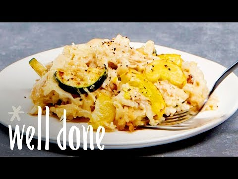 How To Make Easy Chicken And Rice Casserole For A Healthy Dinner | Recipe | Well Done