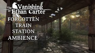 Abandoned Train Station | The Vanishing of Ethan Carter | Heavy Wind Ambience | ASMR | 8 Hours