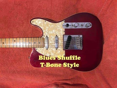 T-Bone Style Shuffle Backing Track