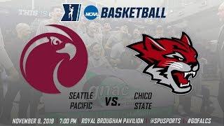 Men's Basketball vs. Chico State: November 8, 2019 @ 7:00pm