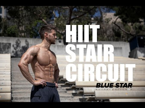 HIIT STAIR CIRCUIT by Blue Star Nutraceuticals