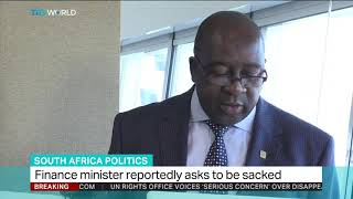 South Africa's Finance Minister Nene asks to be sacked