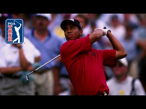 20-year-old Tiger Woods' swing