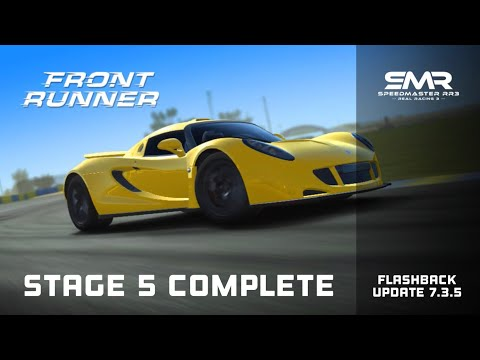 Real Racing 3 Front Runner Stage 5 Complete Upgrades 1111111