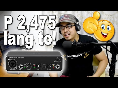 Very Affordable But Decent Sounding Recording Gear | Available At Lazada Philippines