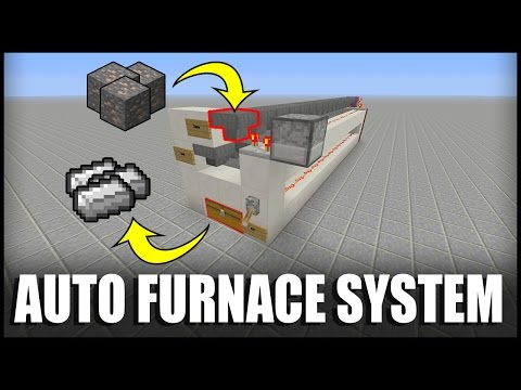 How to Make an Auto Furnace System in Minecraft