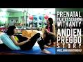 ANDIEN PREGGO STORY - PILATES SESSION PART 1