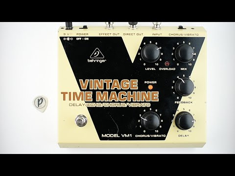 Behringer VM1 Vintage Time Machine Delay Echo Chorus Vibrato (Stereo)