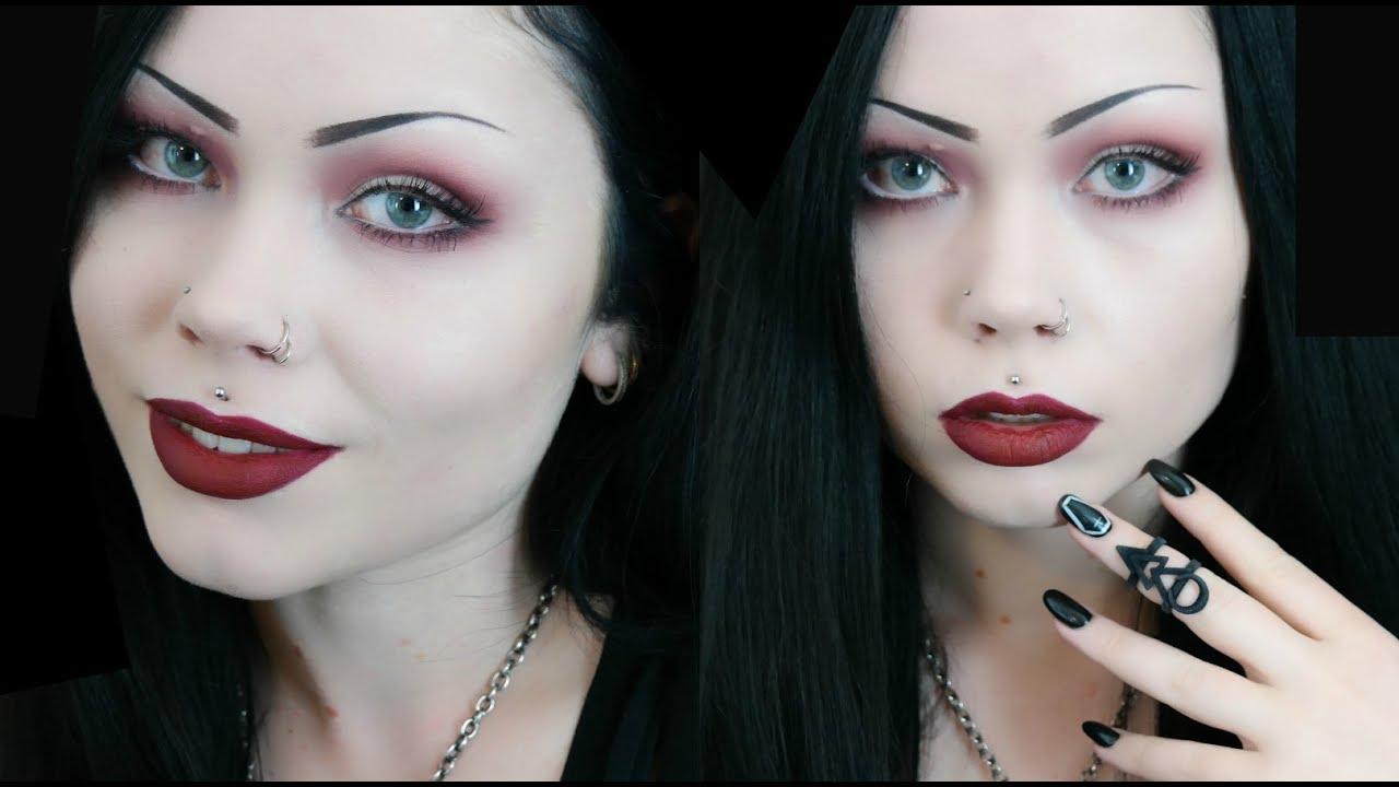 Mulled wine corporate goth makeup tutorial youtube baditri Choice Image