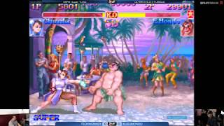 ULTRA 2 OLD 2 FURIOUS - Super Street Fighter 2 Turbo - Top 8 Finals (TIMESTAMP) [1080p/60fps] HD