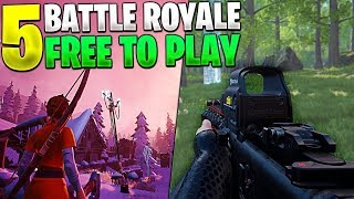 TOP 5 - BATTLE ROYALE GAMES FOR PC (INETIENTS to Fortnite and PUBG) *FREE*