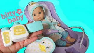 AMERICAN GIRL Bitty Baby Duck Bathtime Set Unboxing!  Bitty Soap + Duck washcloth + lotion
