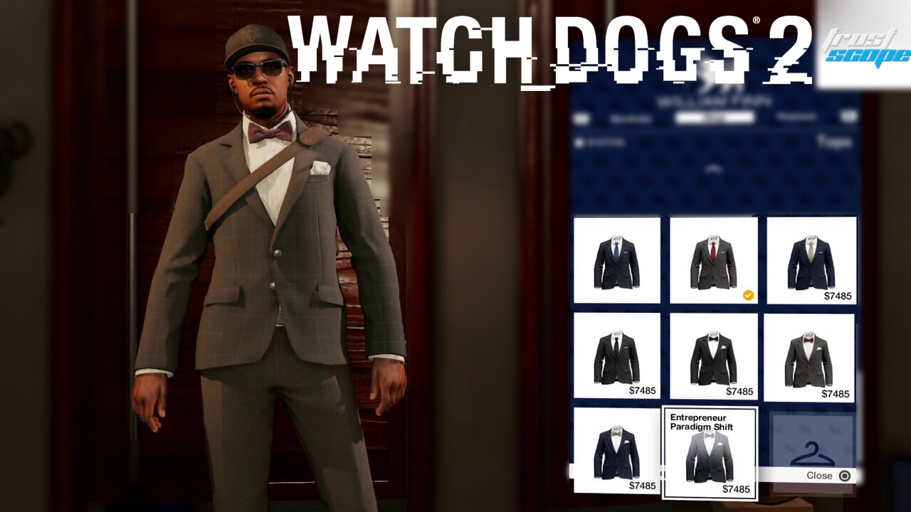Watch Dogs 2 How To Purchase High End Formal Clothes Suits Youtube